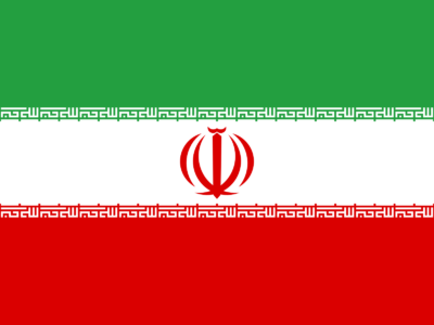 Flag of Iran Background