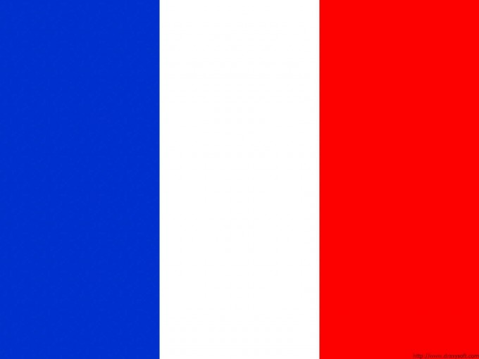 France Flag Powerpoint PPT Backgrounds