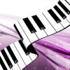 Gorgeous Piano Keys PPT Backgrounds
