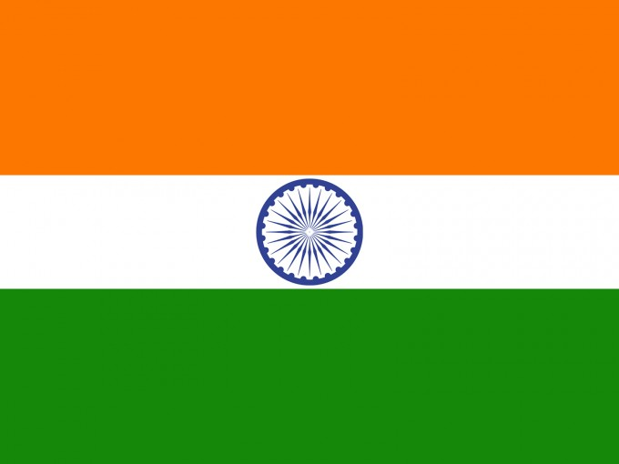 India Country Flag PPT Backgrounds