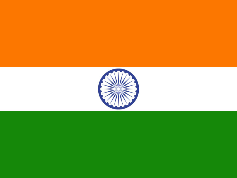 India Flag Background