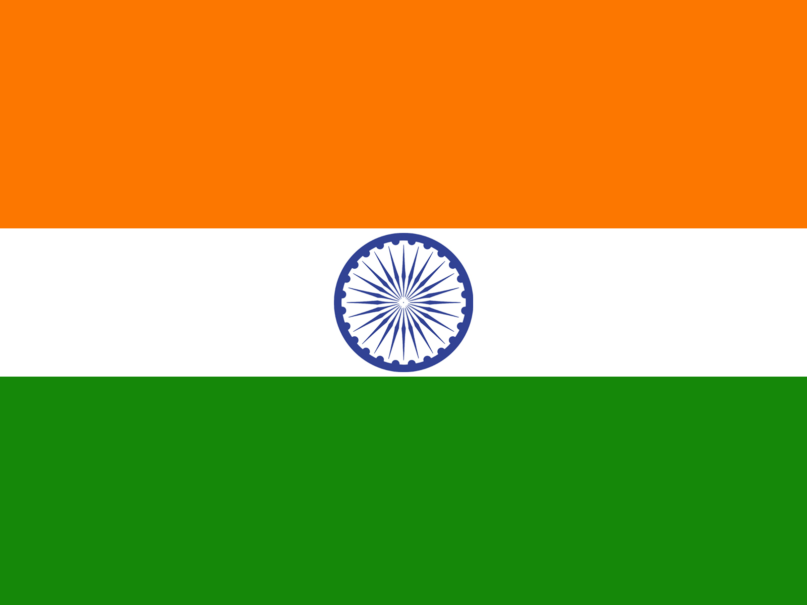 Flag Template | India Flag Background