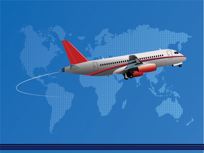 International Air Company PPT Backgrounds