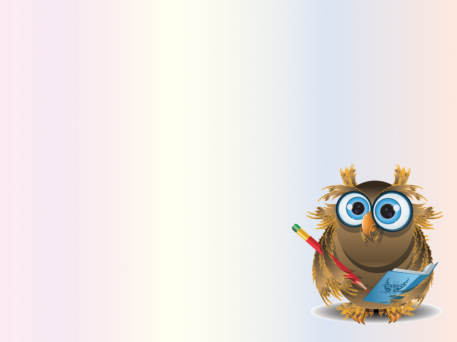 Sweet Owl Teacher Backgrounds Animals Educational