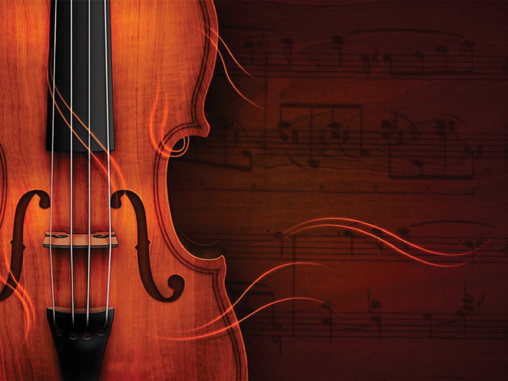violin powerpoint template ppt backgrounds - music templates - ppt, Powerpoint templates