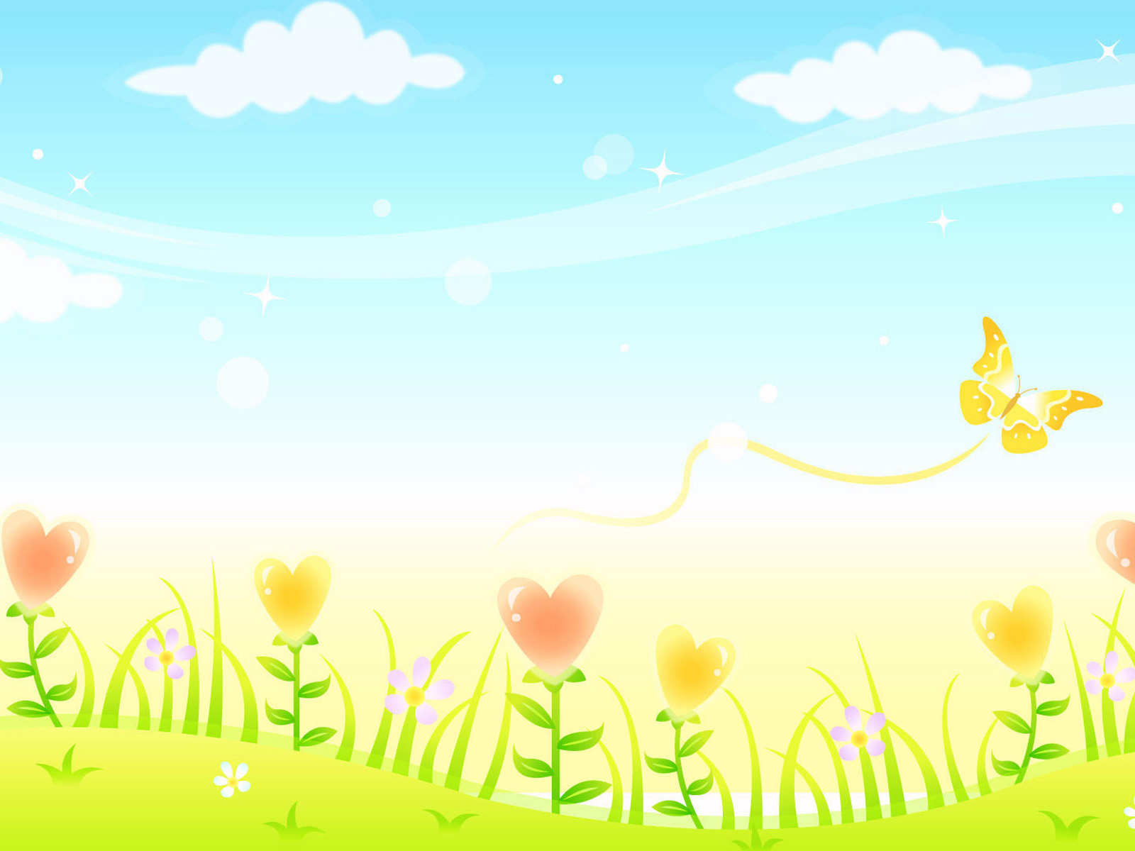 spring powerpoint backgrounds