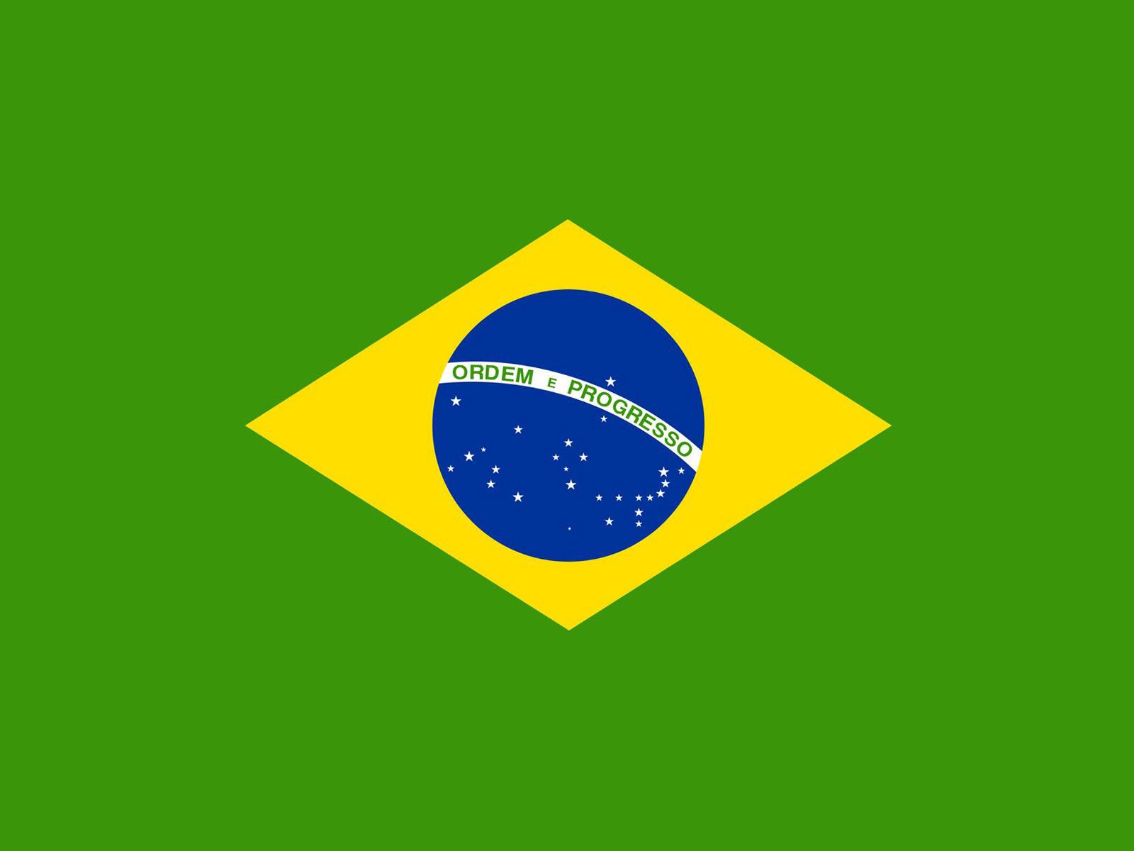 Brazil Flag Powerpoint Background