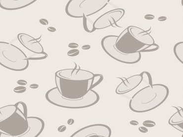 Coffee team design for pattern