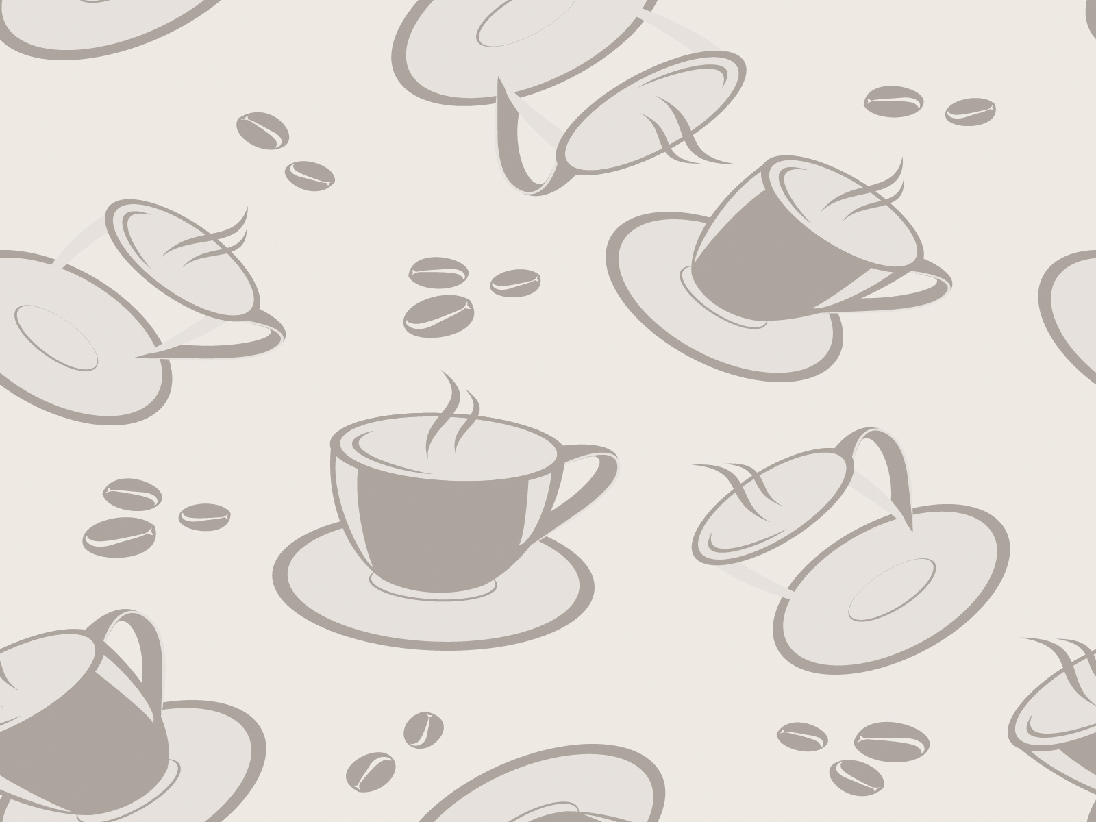 Coffee Team Design For Pattern Backgrounds Foods Drinks Pattern