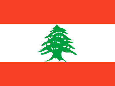 Flag of Lebanon PPT Template