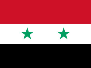 Flag of Syria PPT Backgrounds