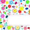 Flowers and Ladybirds PPT Backgrounds