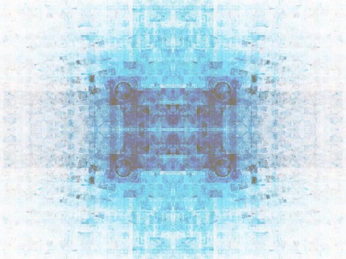 Fractal Blue Powerpoint Design PPT Backgrounds
