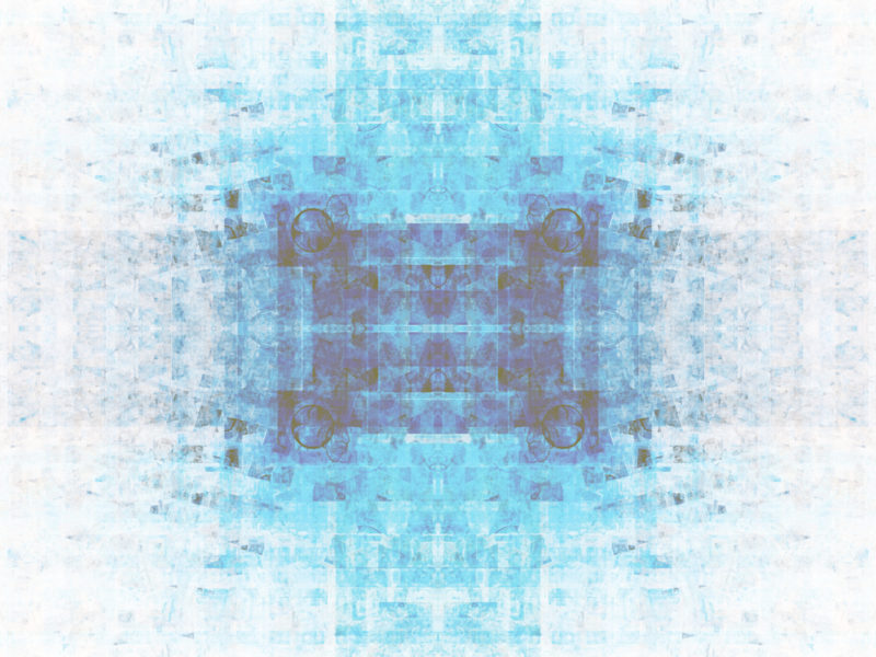 Fractal Blue Powerpoint Design