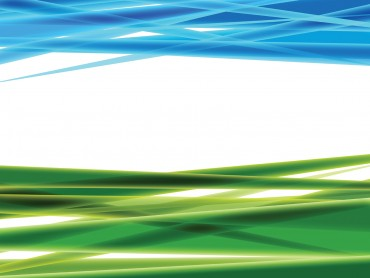 Green and Blue Abstract