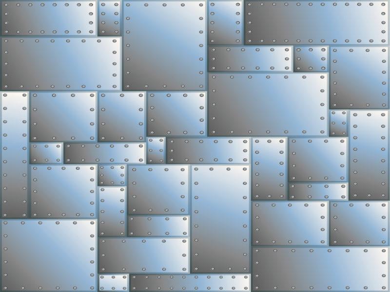 Grey metal spheres cross ppt backgrounds
