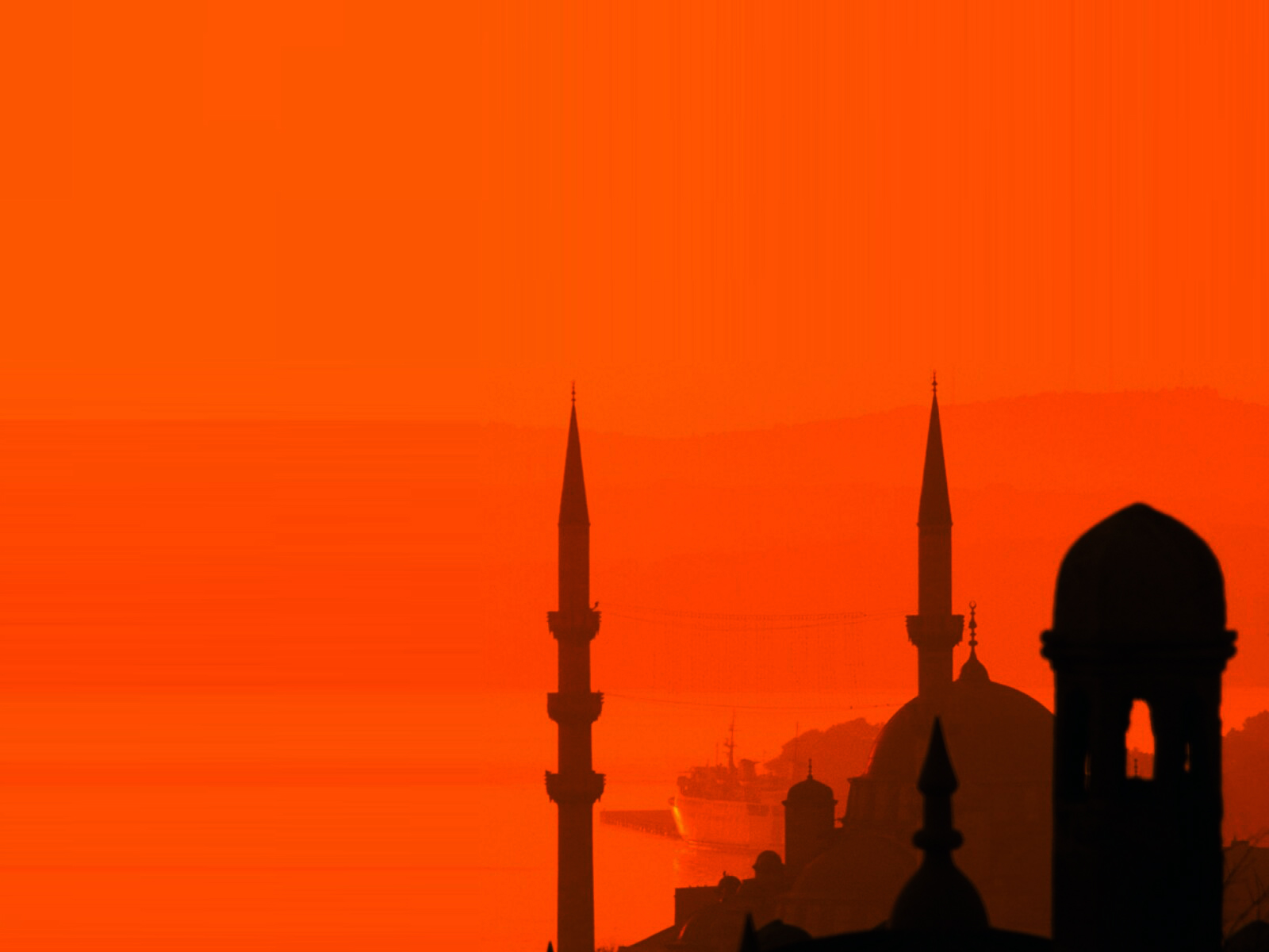 Islamic Mosque PPT Backgrounds