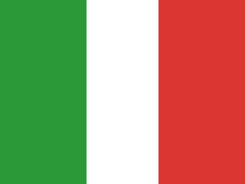 Italy Flags PPT Backgrounds
