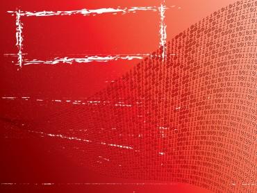 Red gradient grunge art