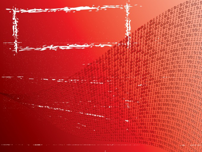 Red gradient grunge art PPT Backgrounds