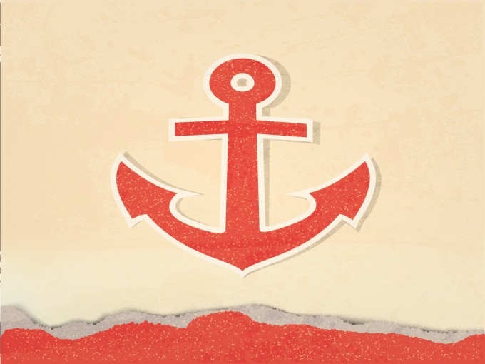 Sea Anchor PPT PPT Backgrounds