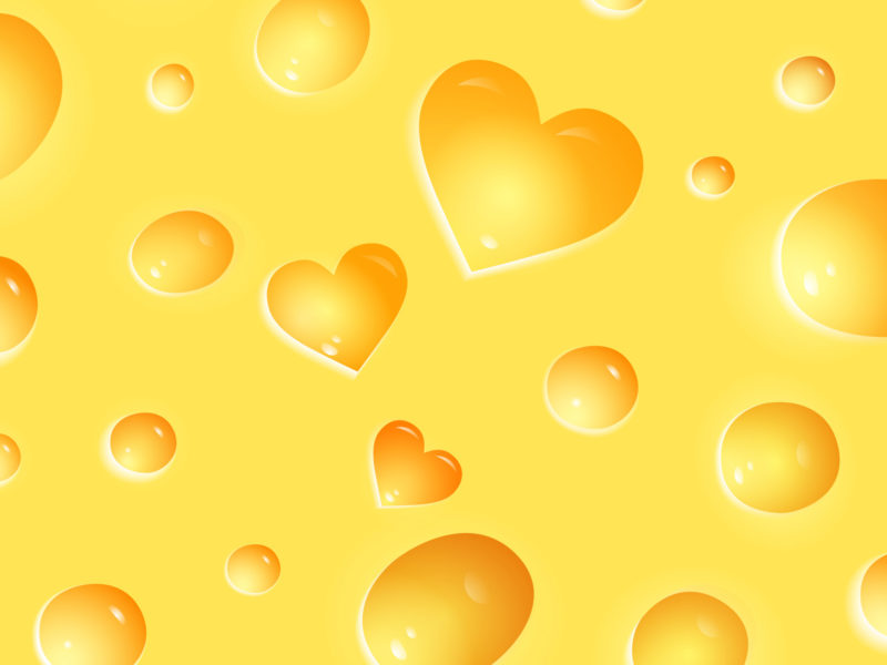 Slices of cheese for Foods Background
