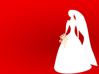 Wedding Dress Powerpoint Backgrounds
