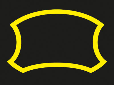 Yellow Frame Black PPT Backgrounds