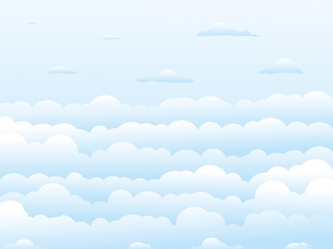 Clear Sky Clouds PPT Backgrounds