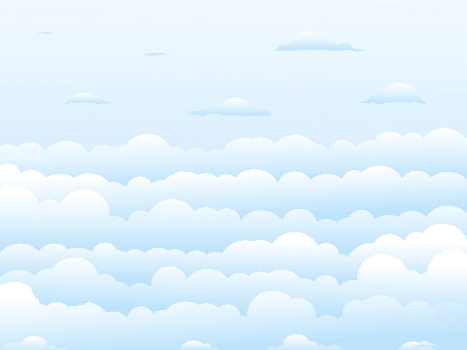 clear sky clouds backgrounds nature templates free ppt
