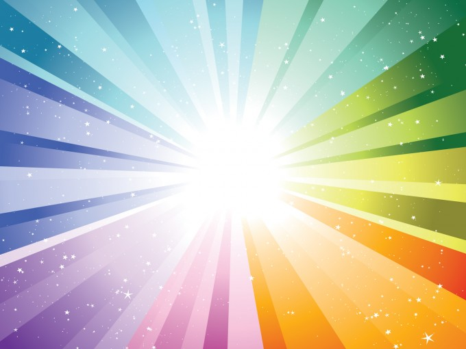 Color Explosion PPT Backgrounds