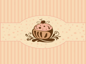 Cupcakes for foods backgrounds