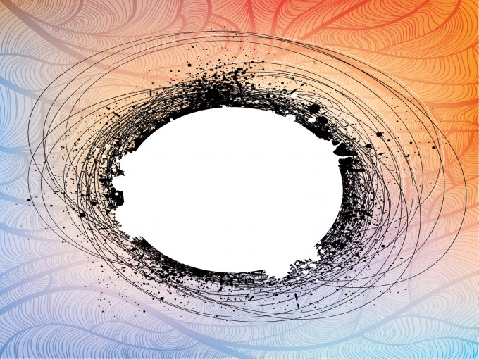 Disaster Hole Abstract PPT Backgrounds