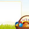Egg basket PPT Backgrounds