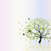Folio Tree Nature ppt Backgrounds