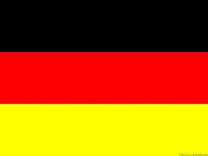 German Flags PPT Backgrounds