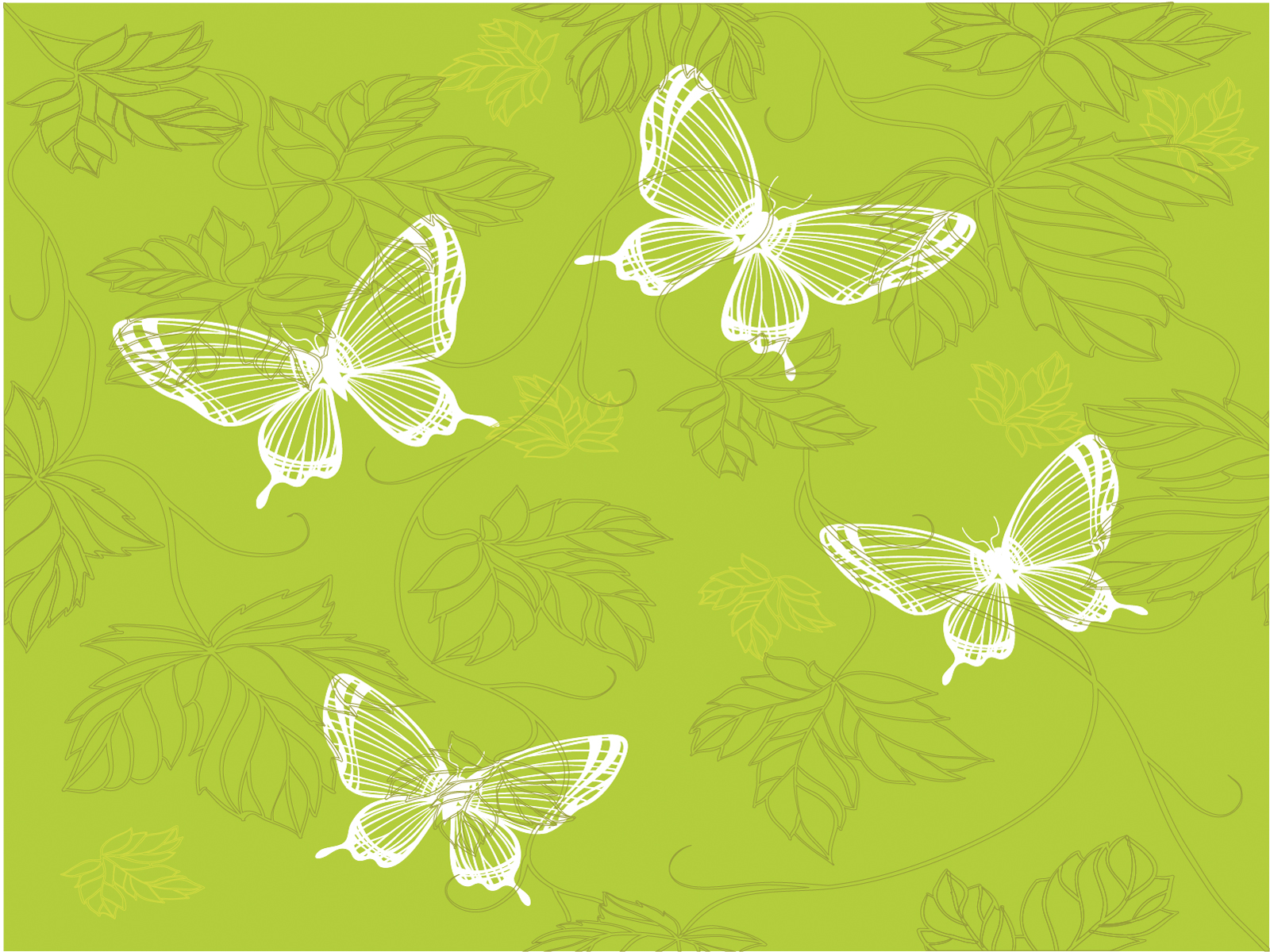 green butterfly backgrounds animals pattern templates