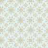 Green snowflakes pattern backgrounds for template
