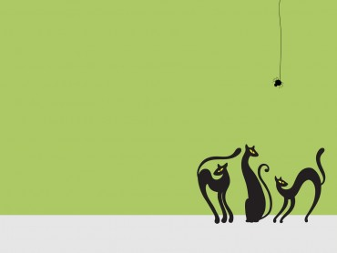 Halloween Cats Powerpoint Slideshow