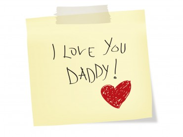 I love you Daddy – Fathers Day