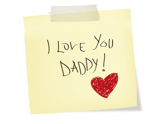 I love you Daddy – Fathers Day PPT Backgrounds