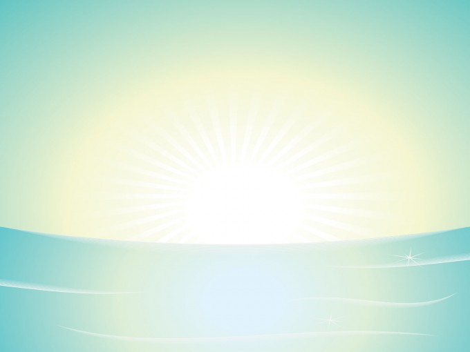 powerpoint backgrounds sun