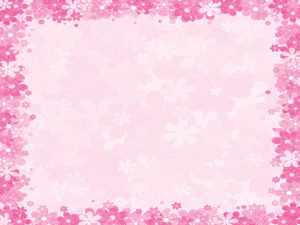 Pink floral frames backgrounds