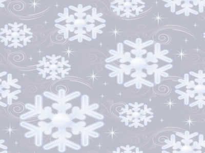 Snow Flakes For Christmas Holidays Backgrounds