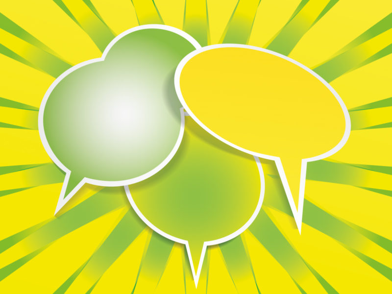 Speech Balloon Powerpoint Backgrounds