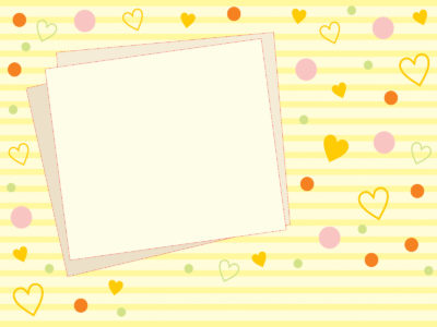 Yellow Photo Frame Backgrounds for Template