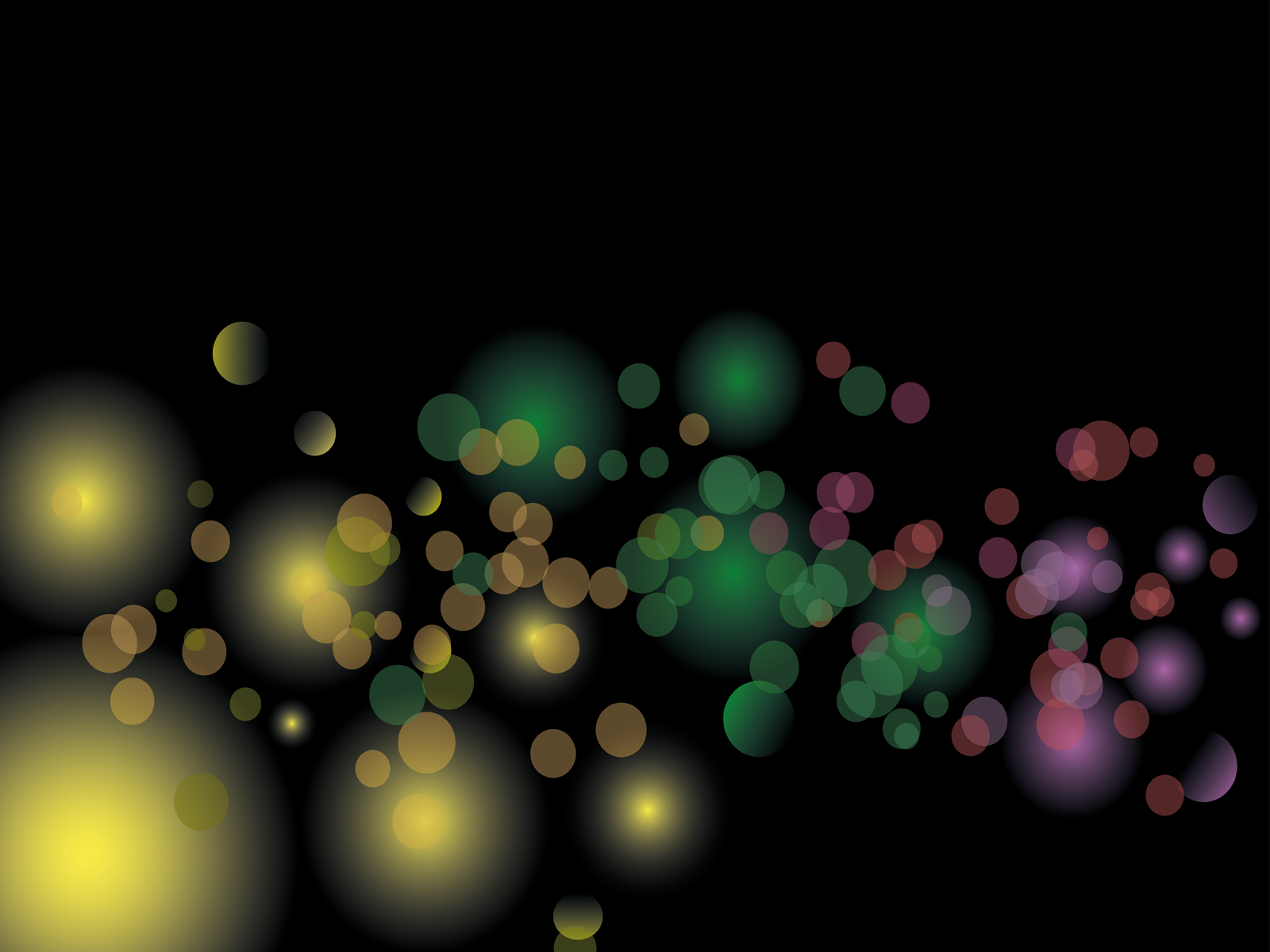 Christmas Abstract Lights Backgrounds