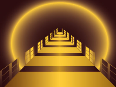 the tunnel ppt backgrounds