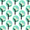 Bird Forest PPT Backgrounds