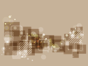 Brown abstract shapes for powerpoint
